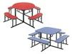 SQUARE & ROUND LUNCHROOM TABLES