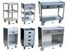 STAINLESS STEEL MOBILE WORK STANDS